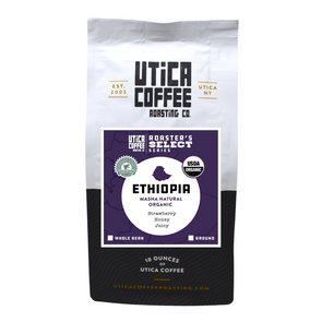 Ethiopia Masha Natural Organic - Utica Coffee Roasting Co.