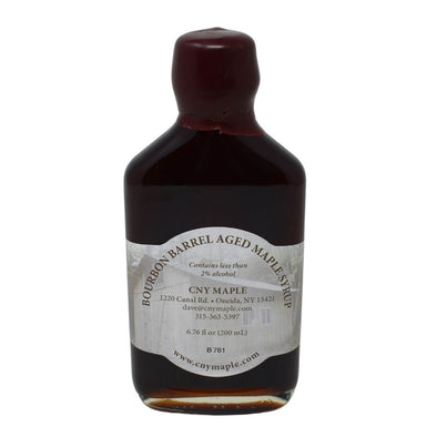 Bourbon Barrel Aged Maple Syrup By CNY Maple