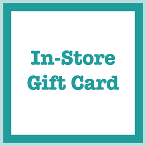 In Store Only Gift Card