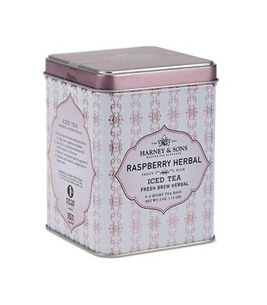 Harney & Sons Raspberry Herbal Iced Tea - Utica Coffee Roasting Co.