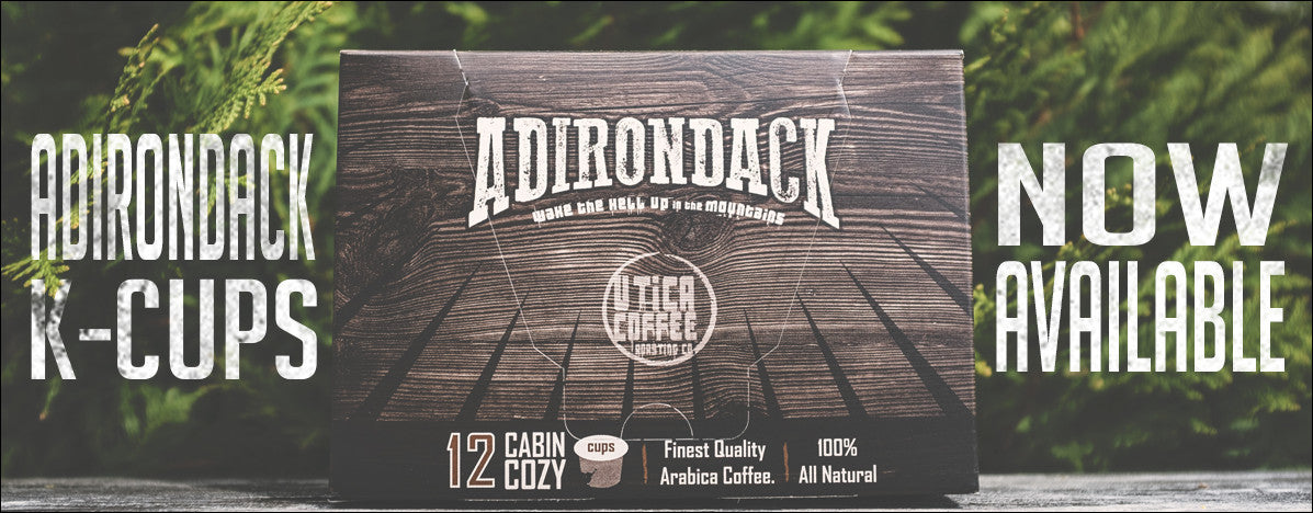 Adirondack K-Cups | Utica Coffee Roasting Co.