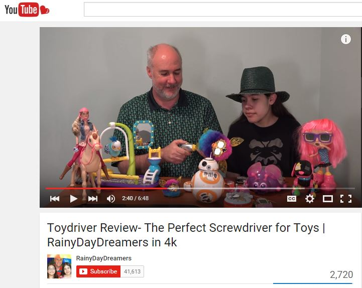 RainyDayDreamers review of Toydriver