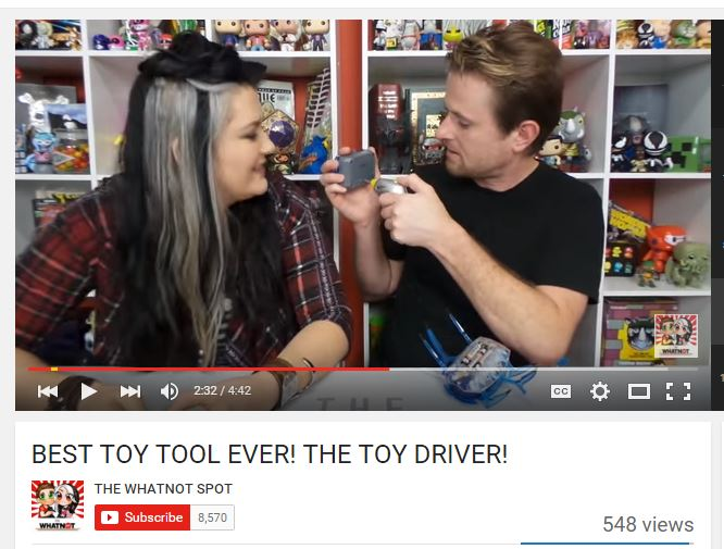 toydriver youtube review
