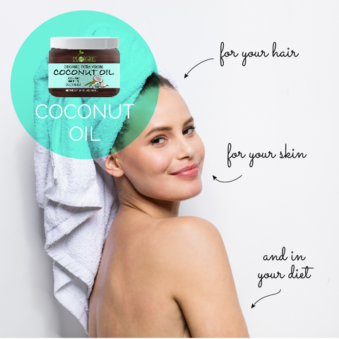 Coconut Oil for your Hair, Skin & Diet