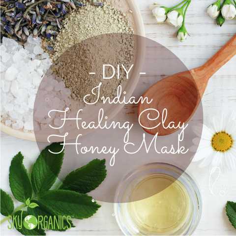 Indian Healing Clay Honey Face Mask