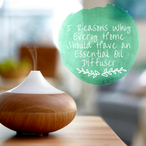 5 Reasons Why You Need an Essential Oil Diffuser