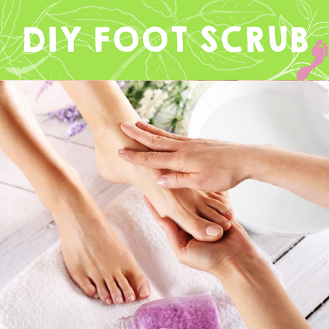 Do it Yourself -  Exfoliating Foot Scrub