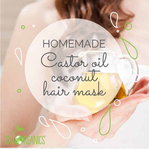 Castor Oil Coconut Revitalizing Hair Mask