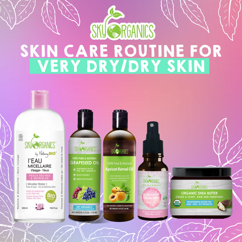 Natural Skincare Routine for Dry Skin