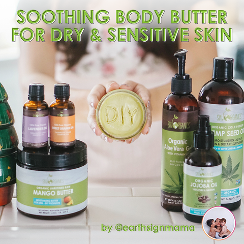 Soothing Body Butter for Dry & Sensitive Skin