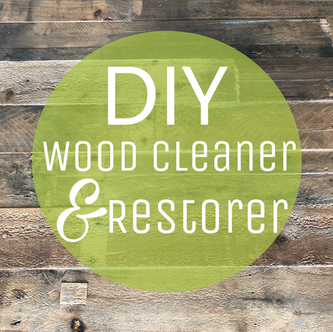 Do It Yourself: Natural Wood Cleaner and Restorer