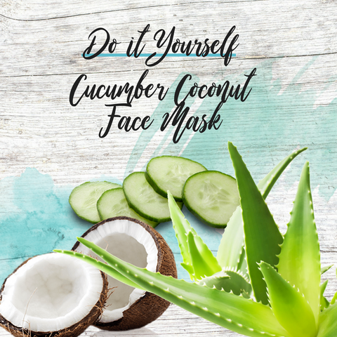 Do it Yourself - Cooling Coconut Face Mask