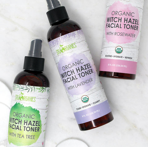Everything You Need to Know About Our Witch Hazel Toners