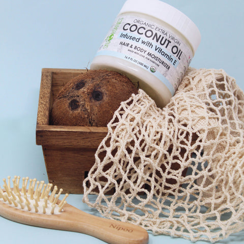 5 Ways to Use Our New Coconut Oil with Vitamin E