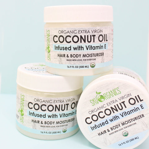 Meet our Coconut Oil with Vitamin E