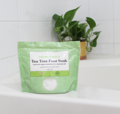 Our New Tea Tree Foot Soak