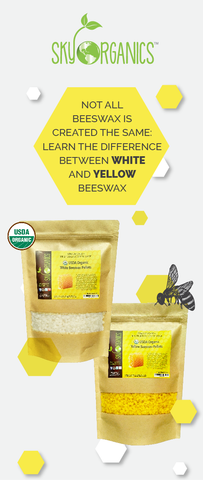 Yellow vs White Beeswax