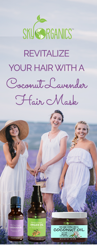 Coconut Lavender Hair Mask