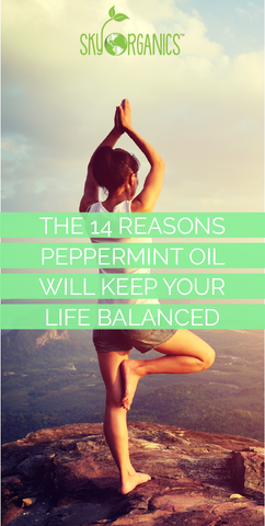 14 Reason Peppermint Oil