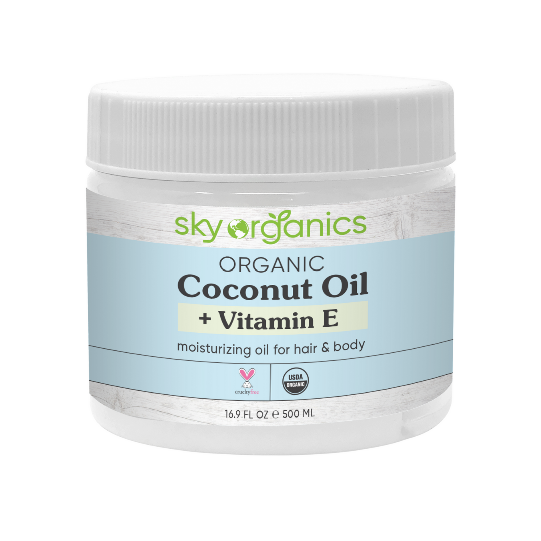 Coconut Oil + Vitamin E