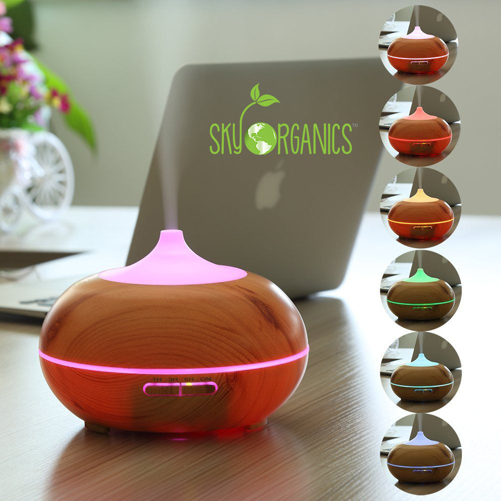 Bamboo Aromatherapy Diffuser-3