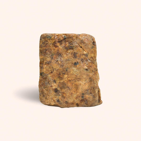 black soap block