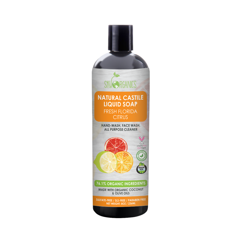 Florida Citrus Castile Liquid Soap-1
