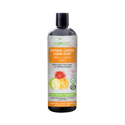 Florida Citrus Castile Liquid Soap