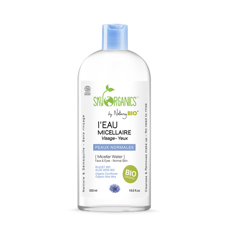 Organic Micellar Cleansing Water for Normal Skin