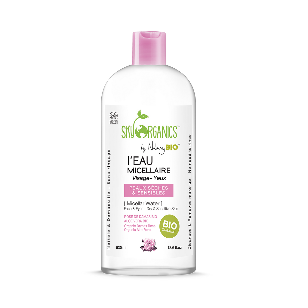 Organic Micellar Water for Dry and Sensitive Skin
