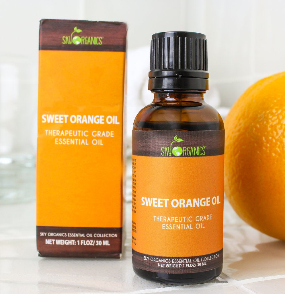 Sweet Orange Essential Oil-3