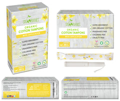 Regular Organic Cotton Tampons