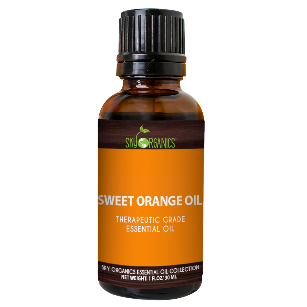 Sweet Orange Essential Oil-1