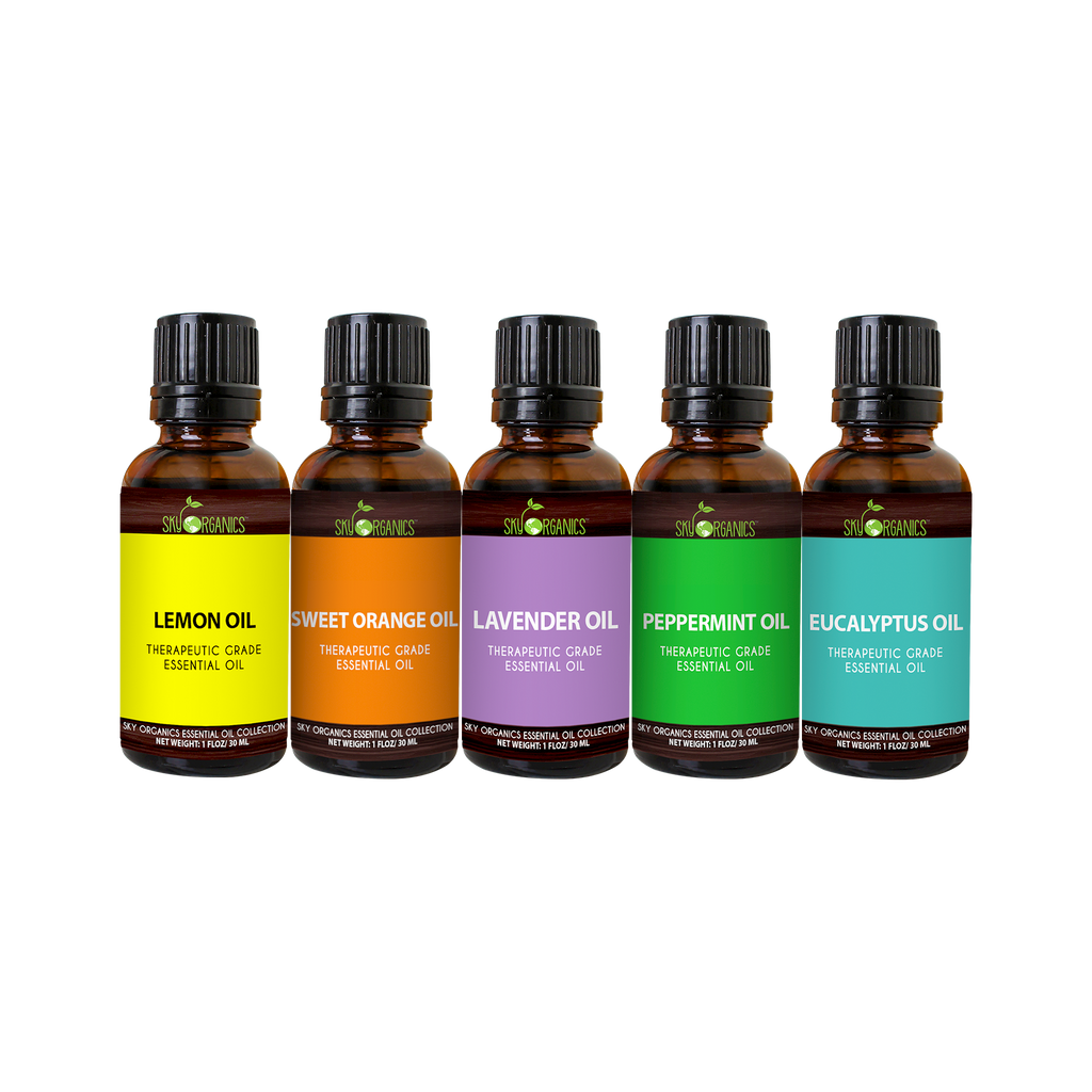 Essential Oil Set (Pack of 5)-1