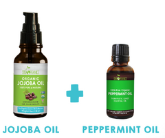 Jojoba Oil + Peppermint oil