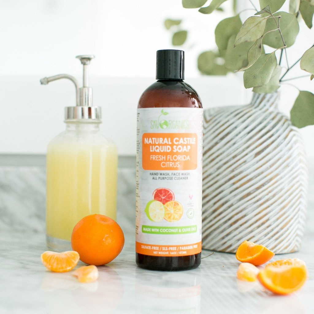 Florida Citrus Castile Liquid Soap-4