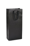 DittaDisplay Retail Solutions sac bouteille papier kraft 175gr noir intense finition mat sans fenêtre kraft paper bottle bag intense black matte finish without window Flaschenbeutel Kraftpapier intensiv schwarz mattes Finish ohne Fenster