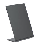 DittaDisplay ardoise table rectangle A7 autoportant L noir