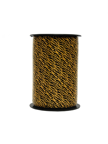 DittaDisplay bobine bolduc ruban fin imprimé animaux motif tigre reel dünnes Band bedruckte Tiere Tigermuster thin ribbon printed animals tiger pattern
