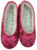 bSoft Women's Slipper in Pink on Pink Damask