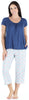 bSoft Women's Bamboo Jersey Capri Set with Pockets