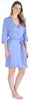 bSoft Women's Bamboo Jersey Wrap Robe