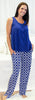 bSoft Women's Bamboo Jersey Tank and Pant Pajama Set