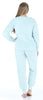 Frankie & Johnny Women's Sherpa Fleece Long Sleeve Pajama Set