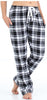 Frankie & Johnny Women's Cotton Flannel Plaid Pajama Sleep Pants