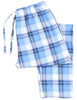Frankie & Johnny Men's Cotton Flannel Plaid Pajama Sleep Pants
