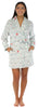Frankie & Johnny Women's Fleece Short Robe in Polar Bears