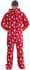 SleepytimePJs Men's Fleece Hooded Footed Onesie Pajamas