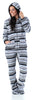 SleepytimePjs Family Matching Fleece Penguin Fairisle Onesie Footed Pajamas