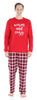 SleepytimePjs Red Plaid Holiday Family Matching Warm and Cozy Pajama PJ Sets